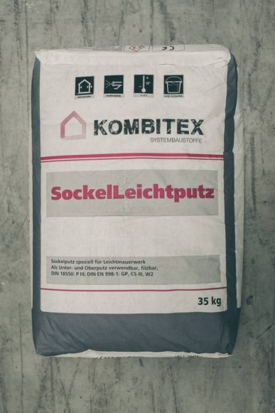 Kombitex Sockel Leichtputz 35kg