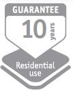 Guarantee(10 Years)