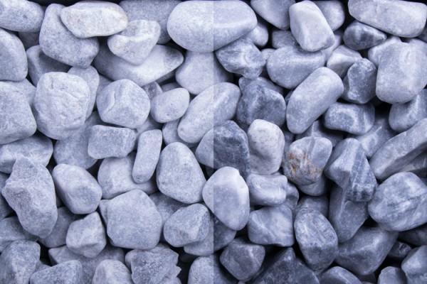 GSH Kristall Blau getrommelt, 40-60 mm (#10191)
