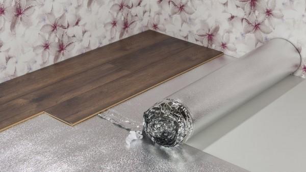 alu flex silent plus 2 mm trittschalld mmung 25 m. Black Bedroom Furniture Sets. Home Design Ideas