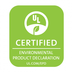 Certified Environmental Product Declaration