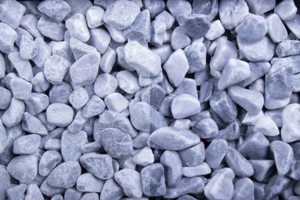 GSH Kristall Blau getrommelt, 8-16 mm (#10188)
