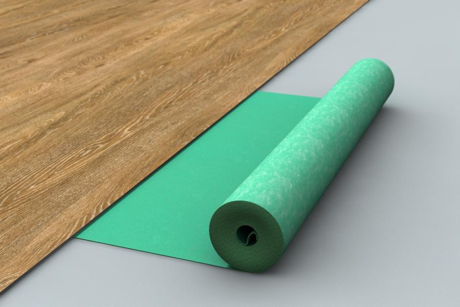 click unterlage protect floor lvt silent 1 4 mm kaufen. Black Bedroom Furniture Sets. Home Design Ideas