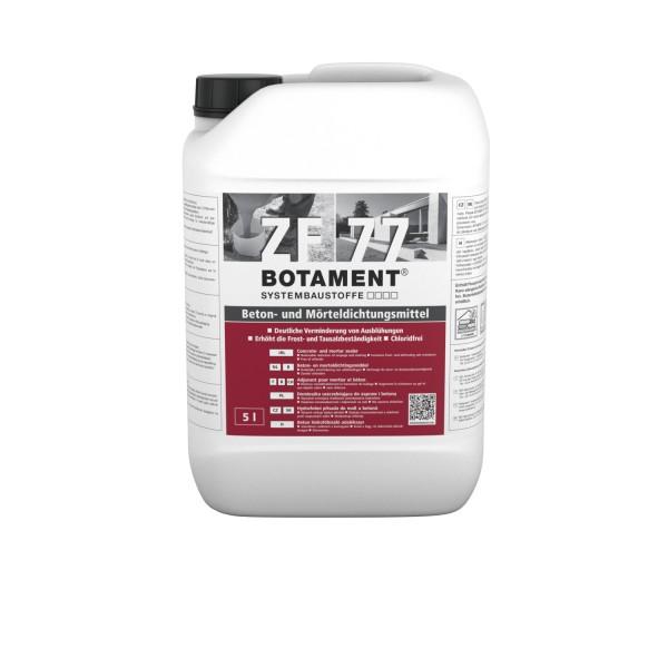 Botament ZF 77 Beton- und Mörteldichtungsmittel 5 L