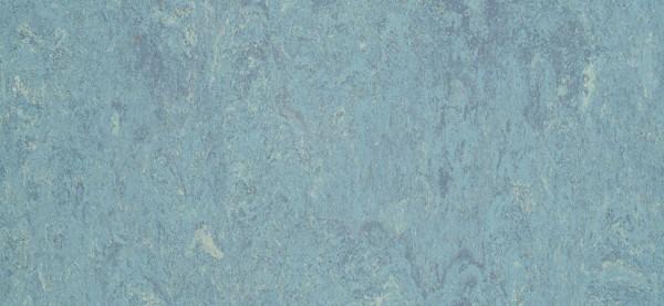 DLW Marmorette LPX 121-023 dusty blue Linoleum Bahnware 2,5 mm
