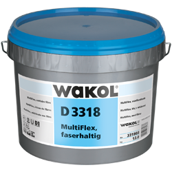 WAKOL D 3318 Multiflex, faserhaltig