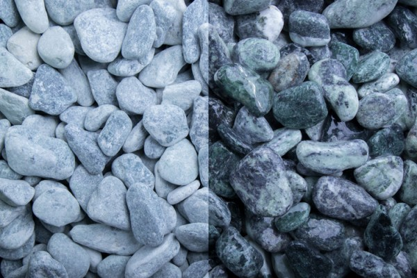 GSH Kristall Grün getrommelt, 15-25 mm (#10195)