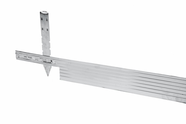 GSH Alu Mevo Edge Pro silber 3,2 mm 244x 10,2 cm (#10502)